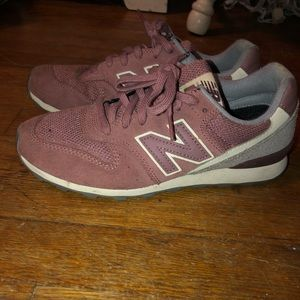 Dusty Rose New Balance sneakers